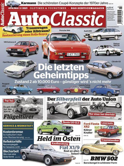 Auto Classic Ausgabe 03/2021