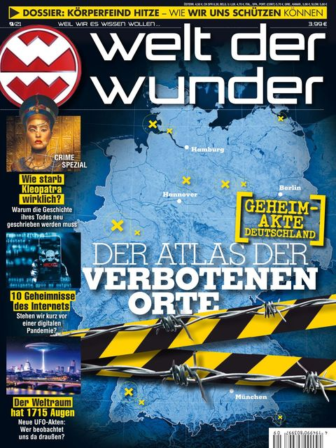 Welt der Wunder Ausgabe 9/2021
