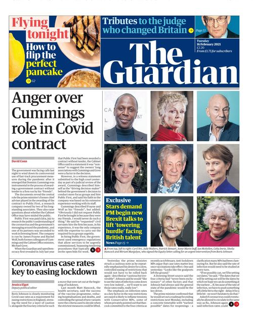 The Guardian 2021-02-16