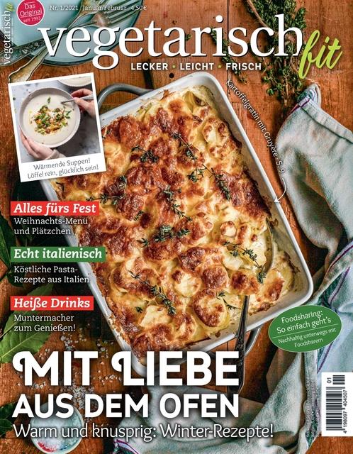Vegetarisch fit Ausgabe 01/2021