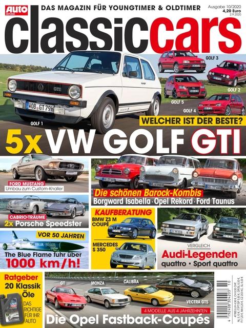 AUTO ZEITUNG classic cars Ausgabe 10/2020