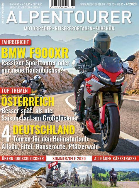 ALPENTOURER – Europas Motorrad-Tourenmagazin Ausgabe 04/2020