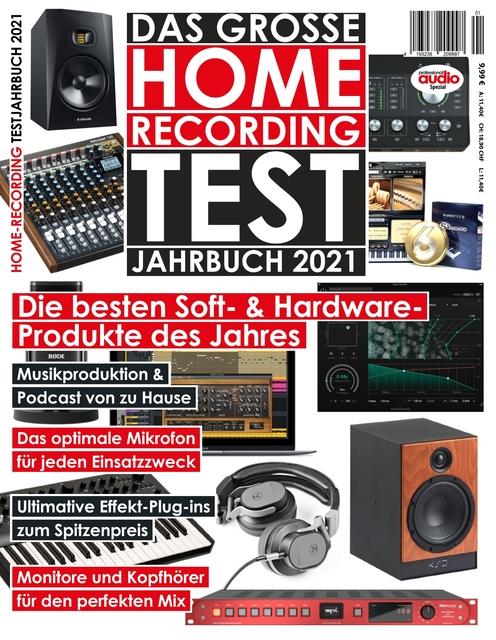 Professional audio Das große Home-Recording Testjahrbuch 2021