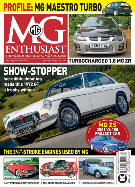 MG Enthusiast issue 12/2020