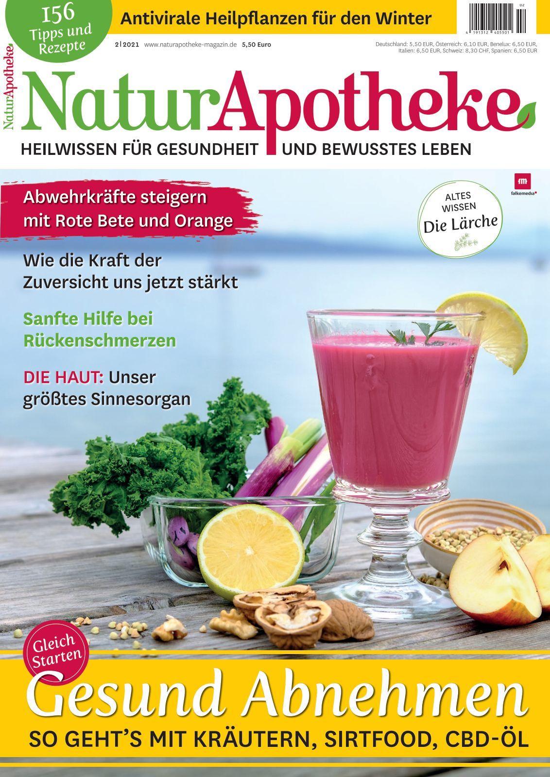 12+ NaturApotheke   Ausgabe 8/281 Kollektion