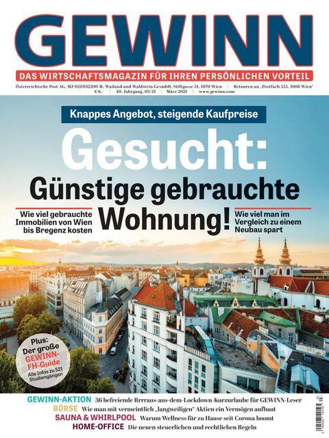 GEWINN Ausgabe 03/2021