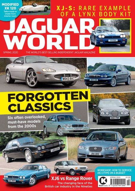 Jaguar World issue Spring 2020