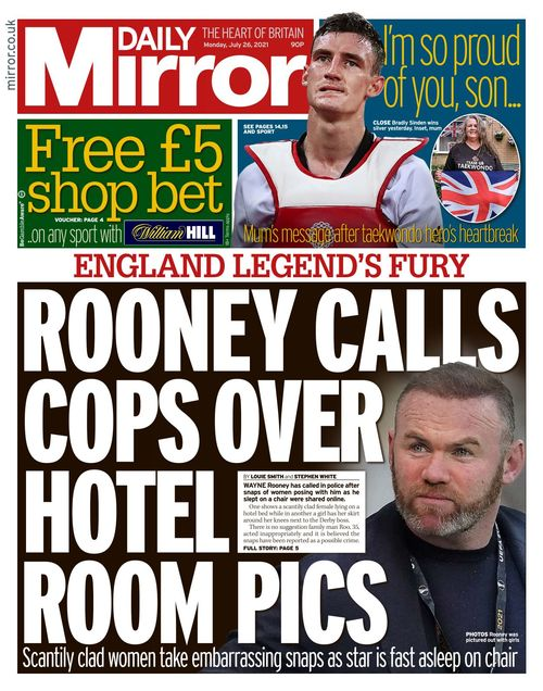 Daily Mirror 2021-07-26