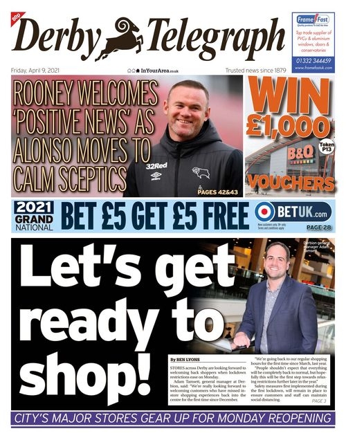 Derby Telegraph 2021-04-09