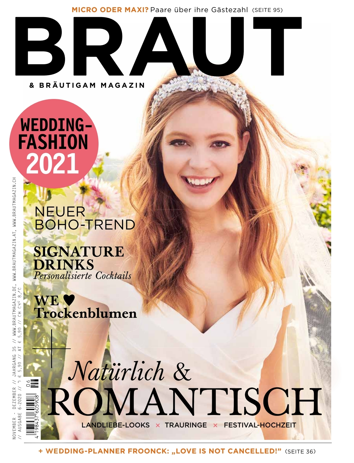 braut & bräutigam - ausgabe 06/2020