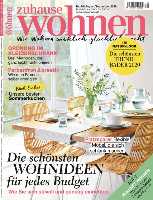 Zuhause Wohnen Ausgabe 08-09/2020