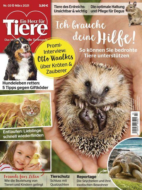 Ein Herz für Tiere Ausgabe 03/2021