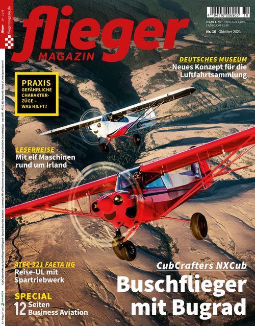 fliegermagazin Ausgabe 10/2021