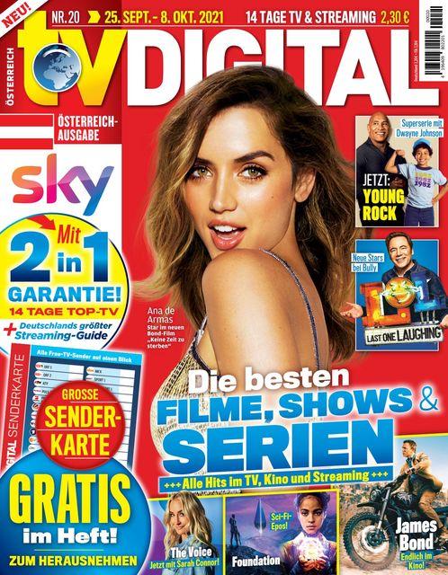TV Digital Österreich 2021-09-17