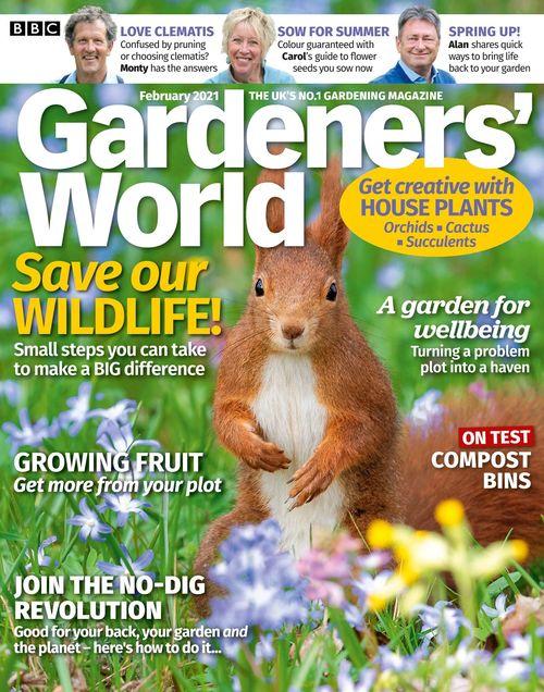 BBC Gardeners' World issue 02/2021