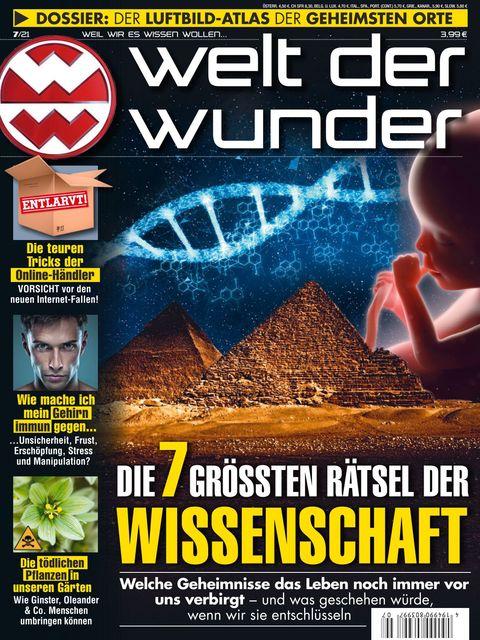 Welt der Wunder Ausgabe 7/2021