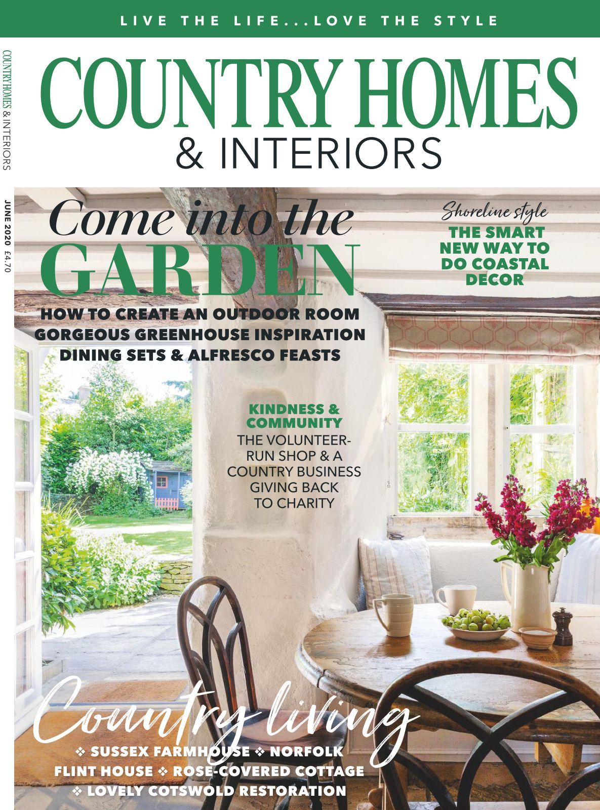 Country Homes & Interiors Magazine   issue 20/20