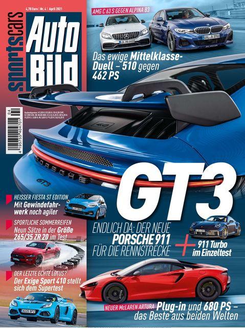 AUTO BILD Sportscars Ausgabe 04/2021
