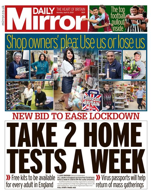 Daily Mirror 2021-04-05