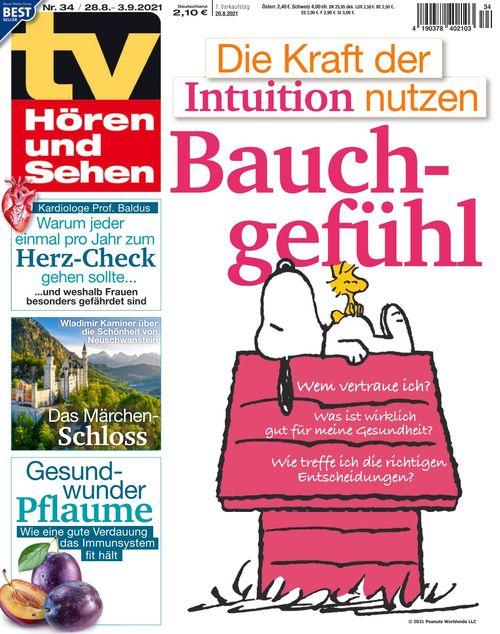 TV Hören und Sehen Ausgabe 34/2021