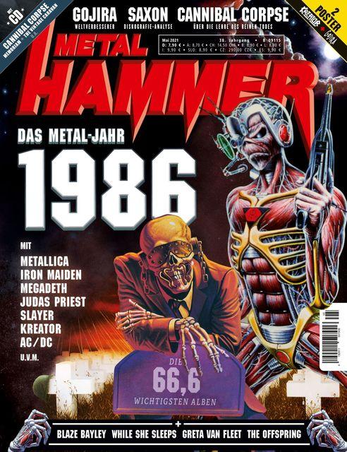 METAL HAMMER Deutschland Ausgabe 05/2021