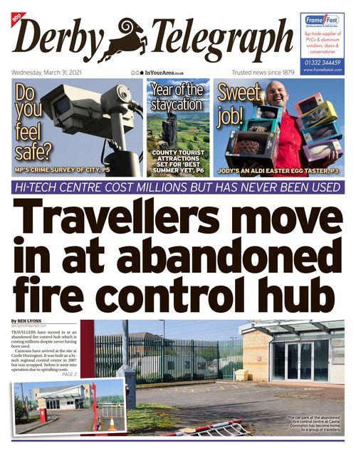 Derby Telegraph 2021-03-31
