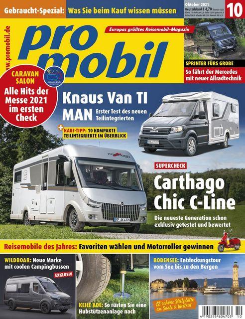 Promobil Ausgabe 10/2021