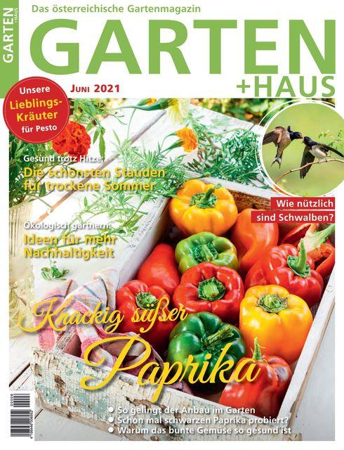 GARTEN+HAUS Ausgabe 06/2021