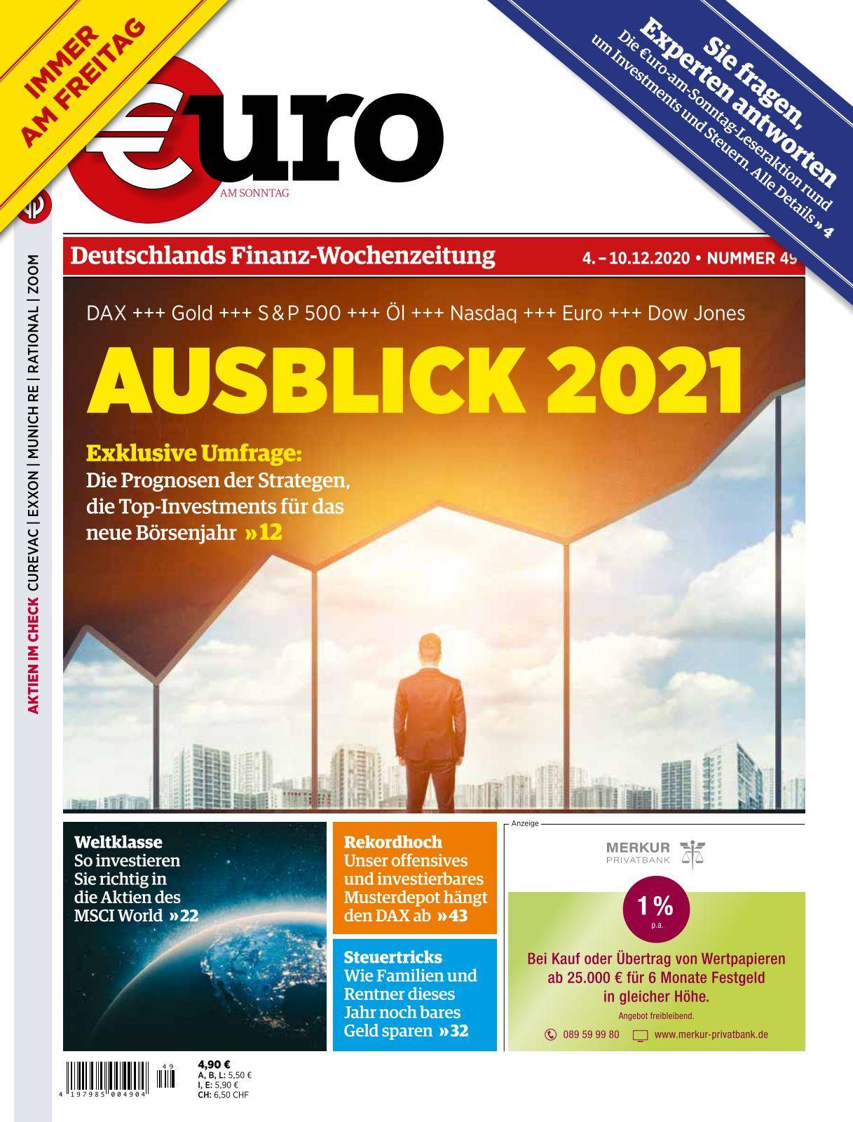 Euro am Sonntag   Ausgabe 25/25
