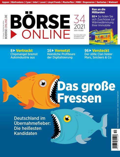 Börse Online Ausgabe 34/2021