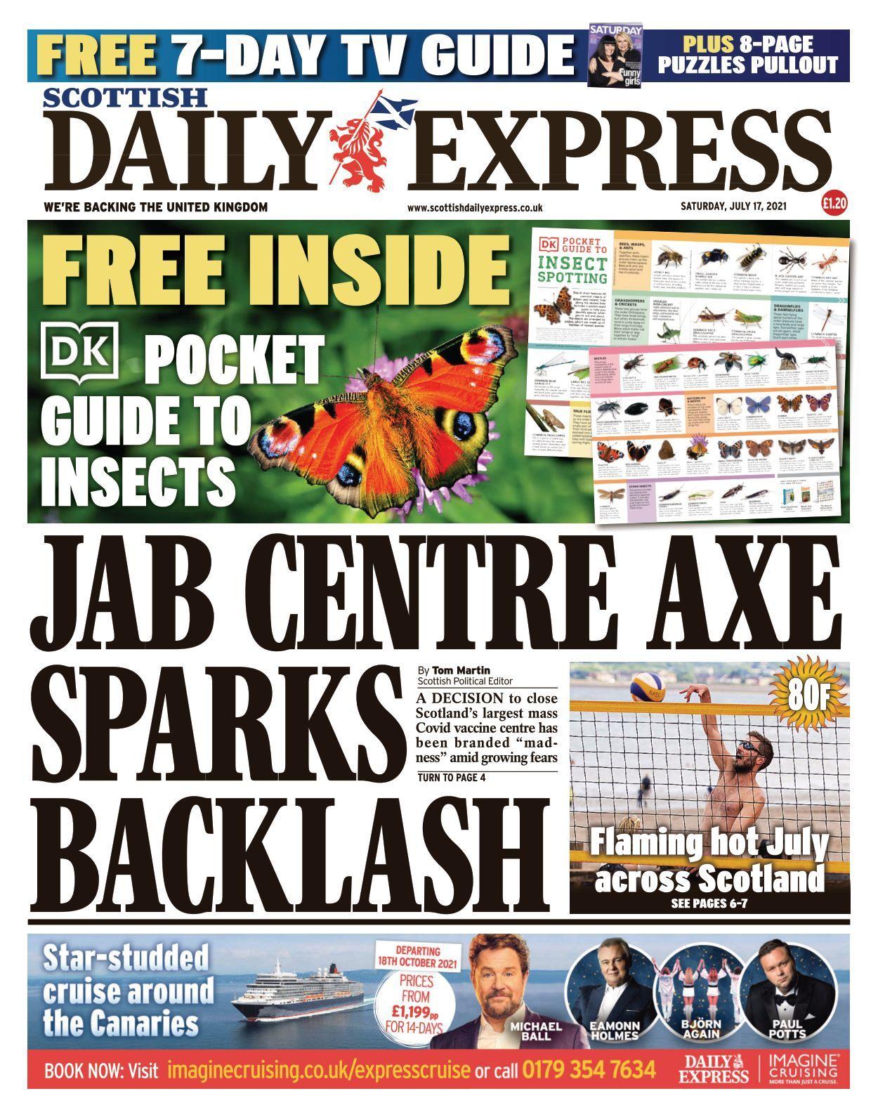 Scottish Daily Express   20 20 20