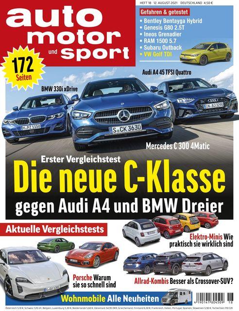 Auto Motor und Sport 2021-08-11