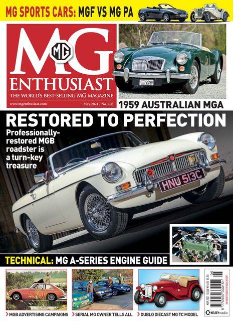 MG Enthusiast May 2021