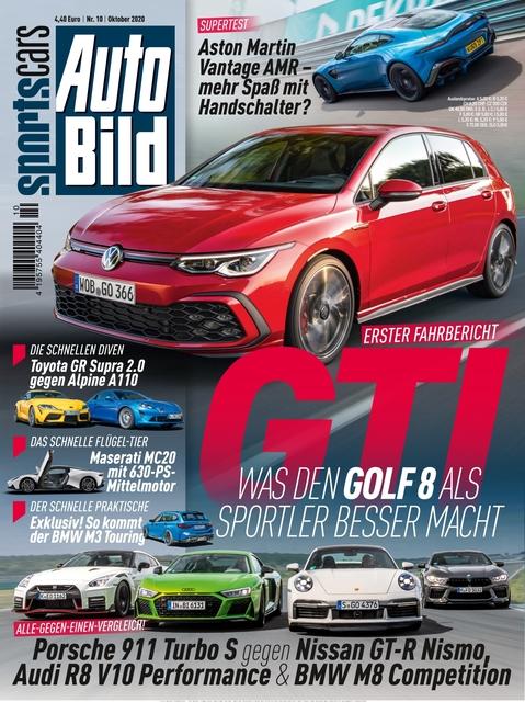AUTO BILD Sportscars 2020-09-11