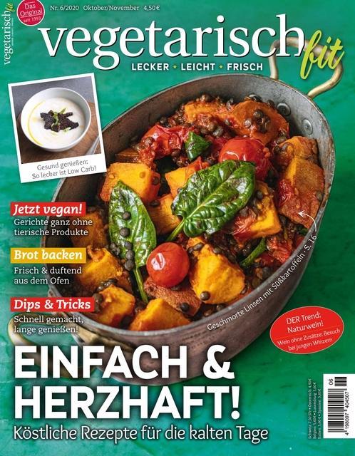 Vegetarisch fit Ausgabe 06/2020