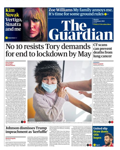 The Guardian 2021-02-15