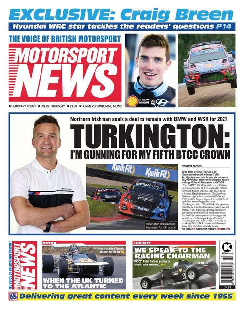Motorsport News 2021-02-04