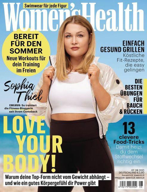 WOMEN'S HEALTH Ausgabe 07-07/2021
