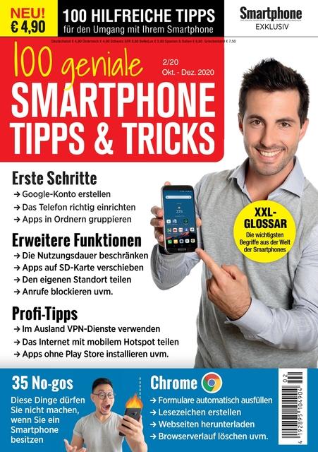 100 geniale Smartphone Tipps und Tricks Magazin Ausgabe 02/2020