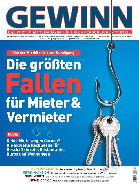 GEWINN Ausgabe 01/2021