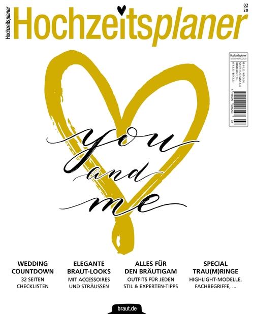 Hochzeitsplaner Ausgabe 02/2020