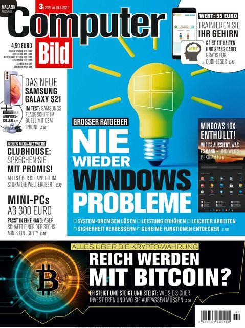 COMPUTER BILD Ausgabe 03/2021
