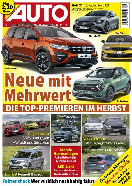 Auto Straßenverkehr 2021-09-15