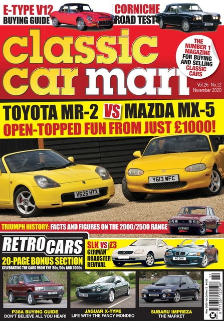 Classic Car Mart issue 11/2020