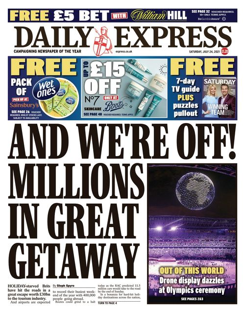 Daily Express 2021-07-24