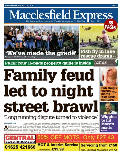Macclesfield Express 2018 08 24, Furnitureland South Reviews Bbb