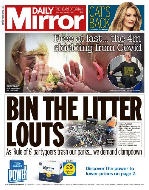 Daily Mirror 2021-04-01