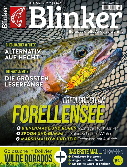 Trout Perfect Bodentaster Forellen angeln Gewicht   Made in Germany