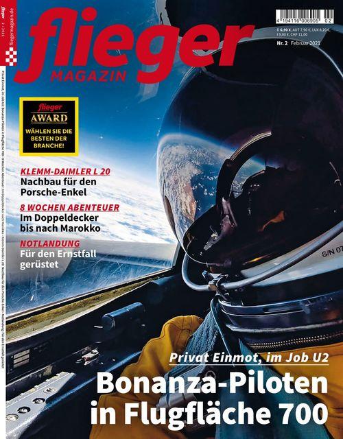 fliegermagazin Ausgabe 02/2021