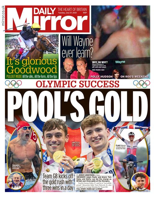 Daily Mirror 2021-07-27